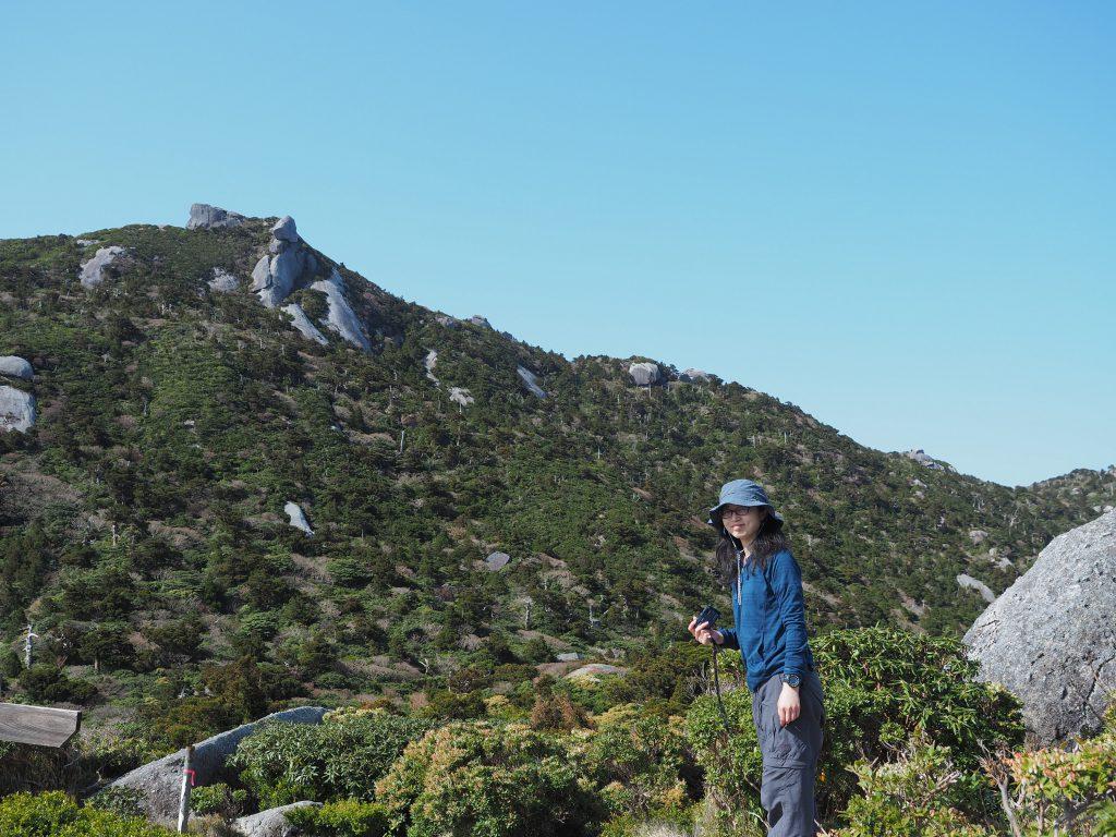 宮之浦岳コースの投石平