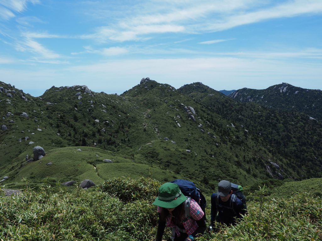 宮之浦岳コースの奥岳
