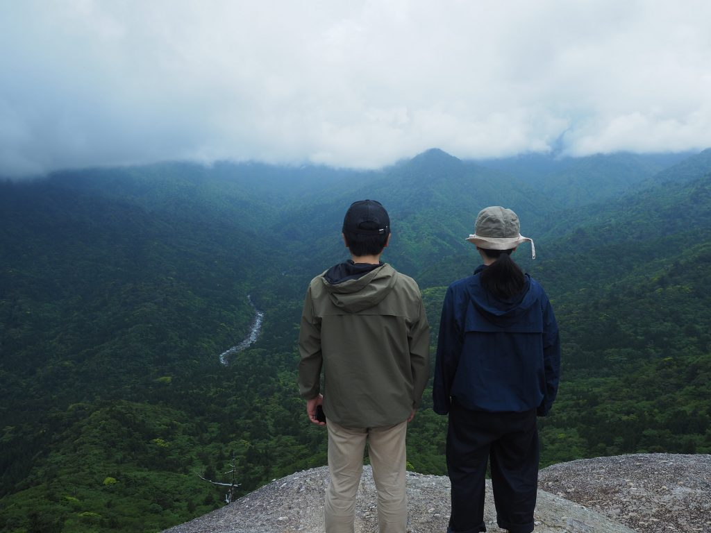白谷雲水峡の太鼓岩