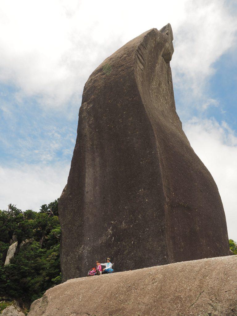 太忠岳山頂の天柱石
