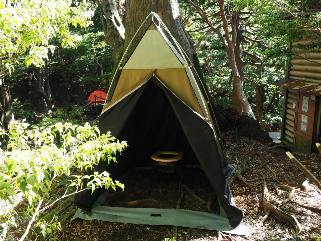 携帯トイレブース テントタイプ