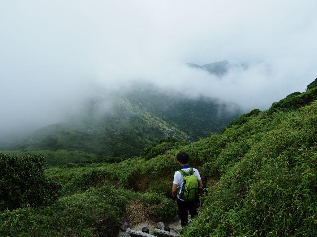 奥岳の展望