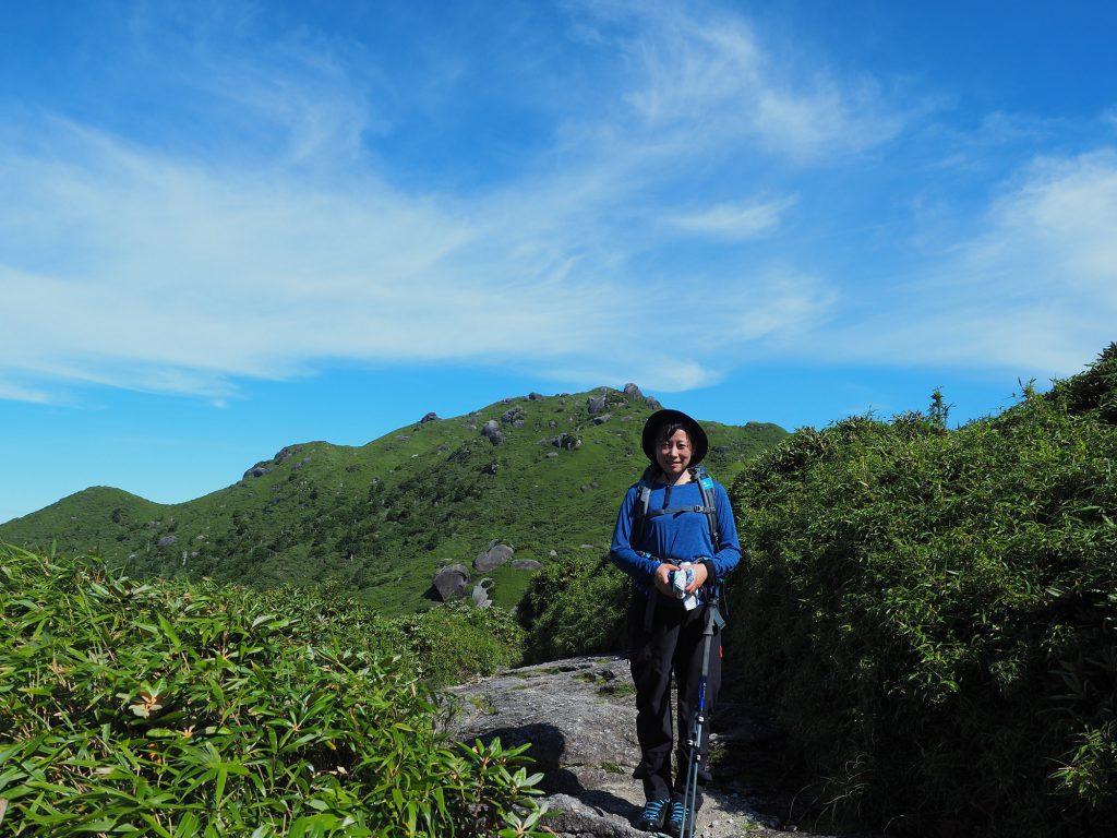 もうすぐ宮之浦岳山頂