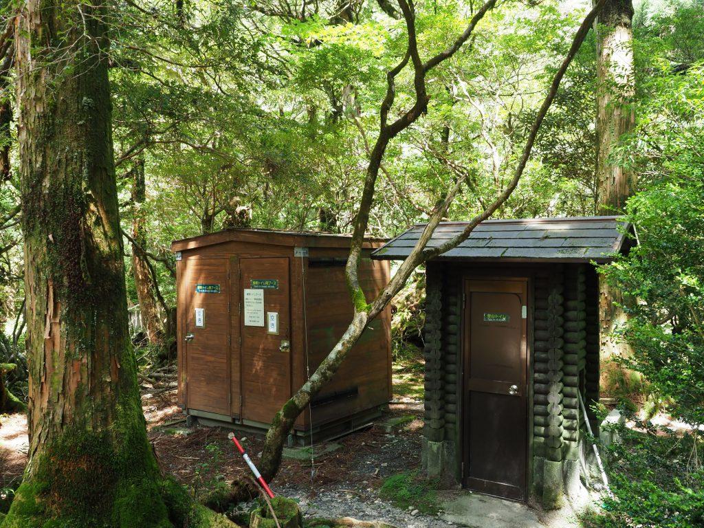 淀川小屋 トイレ