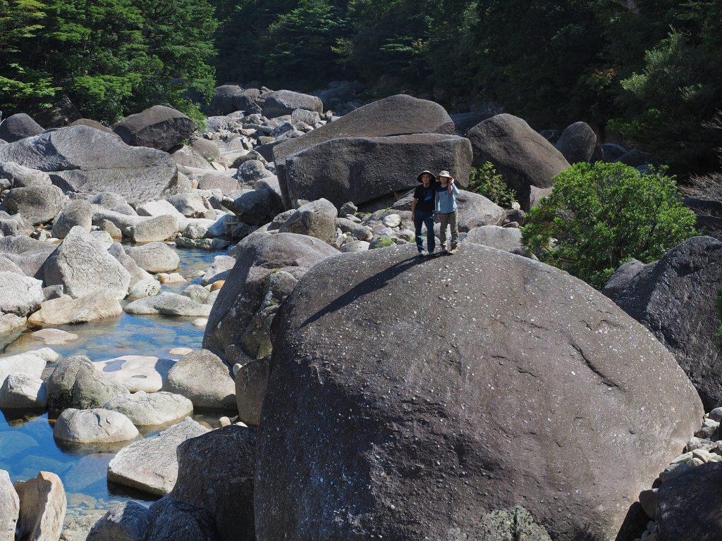 小杉谷近くの安房川