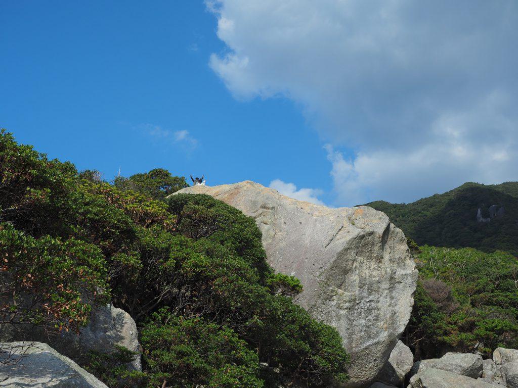 花崗岩の大岩