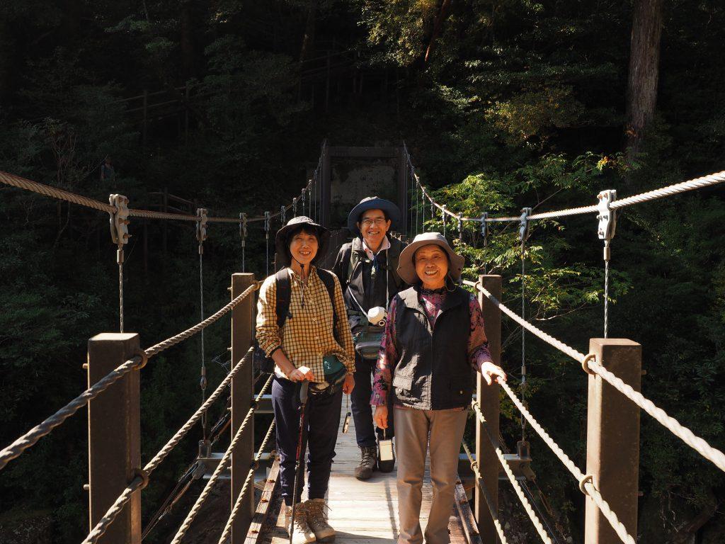 ヤクスギランド 吊り橋